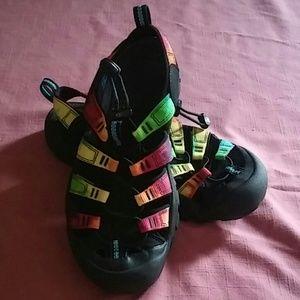 Keen tiedye water shoe sandals